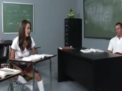 teacher plays with her sweet princess