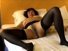 Mature Slut Wearing Black...